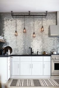 Creative Backsplash Material 8