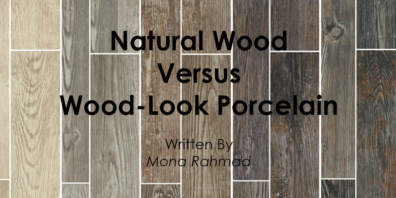 Natural Wood or Wood-Look Porcelain?
